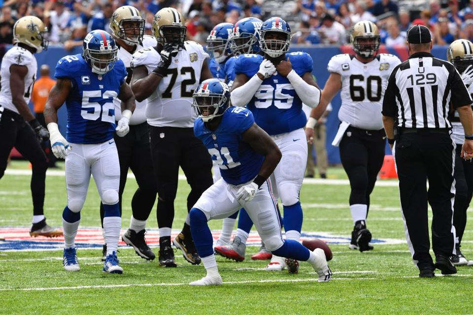 Giants Vs Saints Review/Analysis