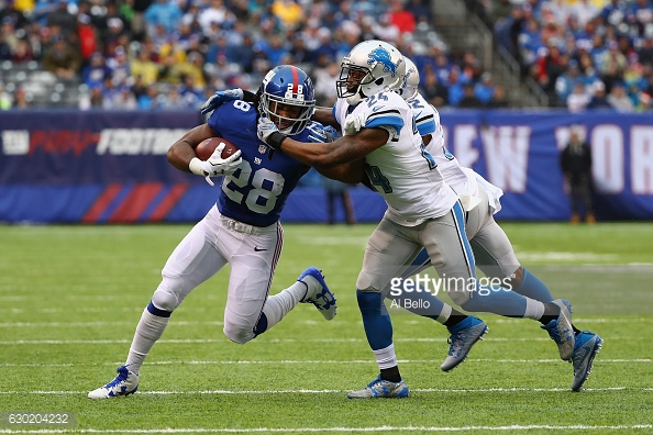Giants And Lions Pro Football Focus Grades Week 15