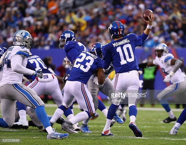 Giants Vs Lions Week 15 Review