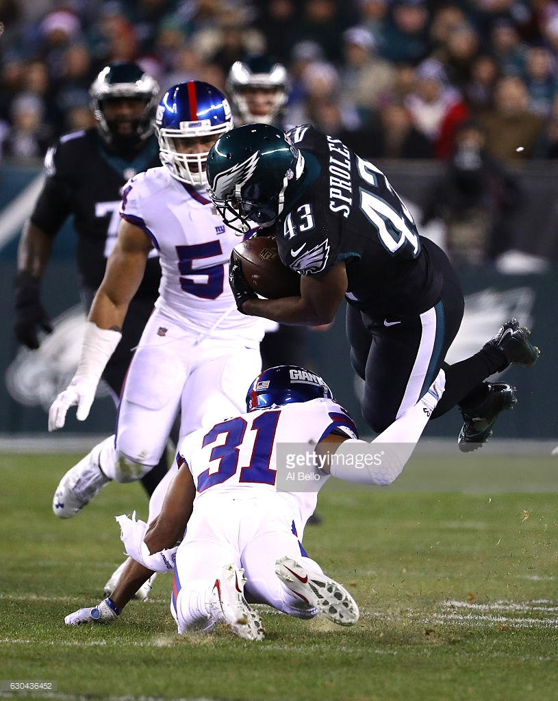 Giants And Eagles Pro Football Focus Grades Week 16