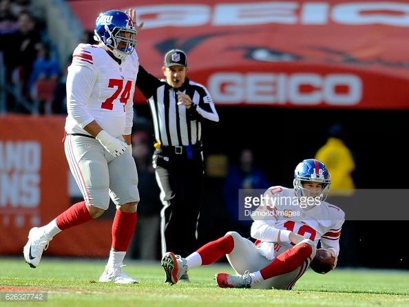 Giants Offensive Line Season Ranking