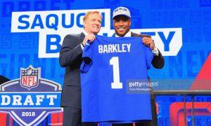 Giants Grab Saquon Barkley With 2nd Pick