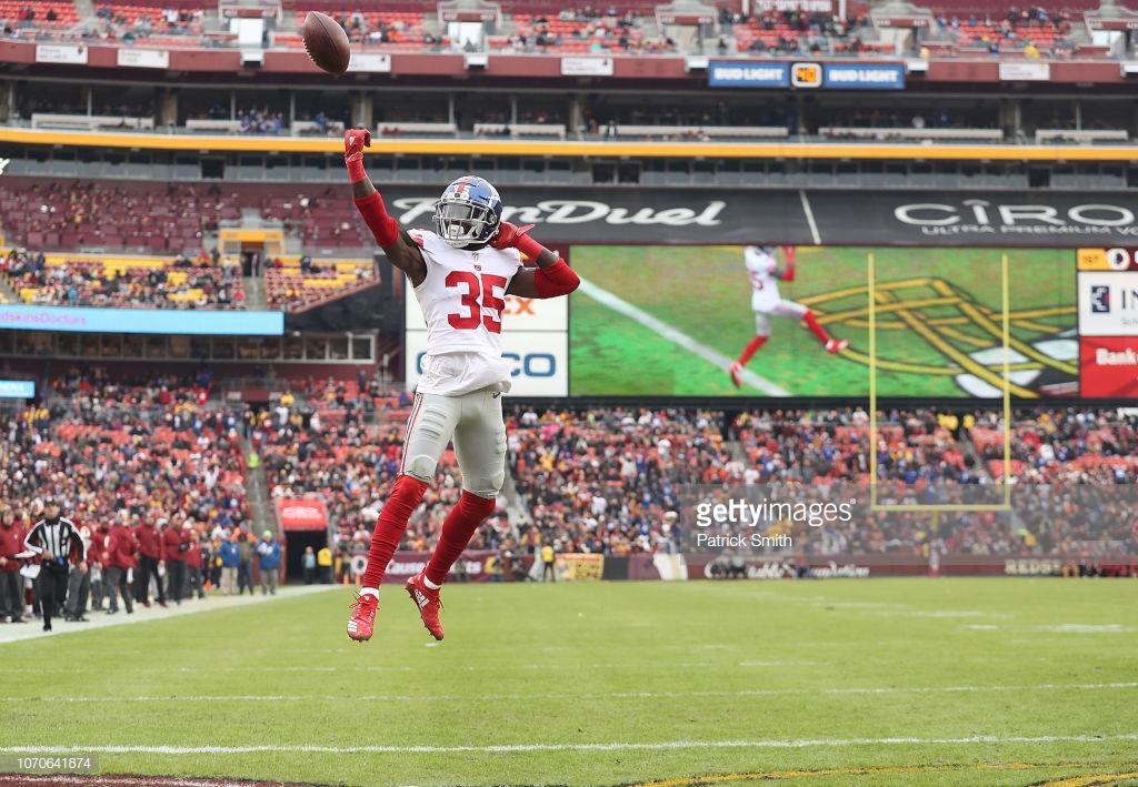 Watch: Curtis Riley Pick 6